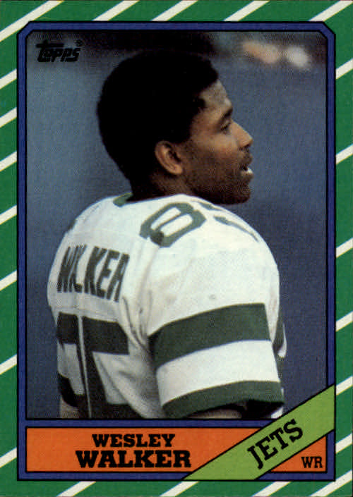 1986 Topps #99 Wesley Walker