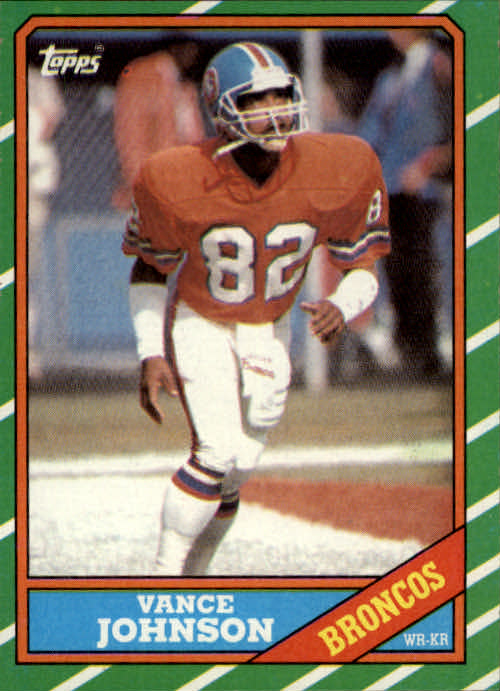 1986 Topps #116 Vance Johnson RC