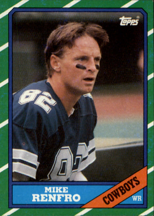 1986 Topps #128 Mike Renfro
