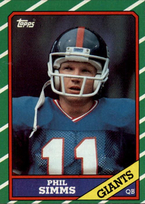 1986 Topps #138 Phil Simms