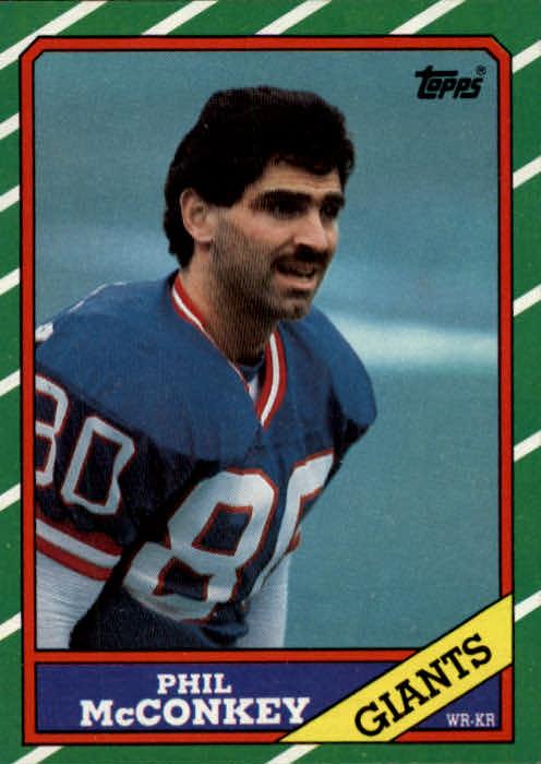 1986 Topps #143 Phil McConkey RC
