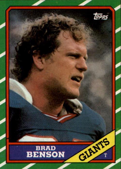 1986 Topps #146 Brad Benson RC