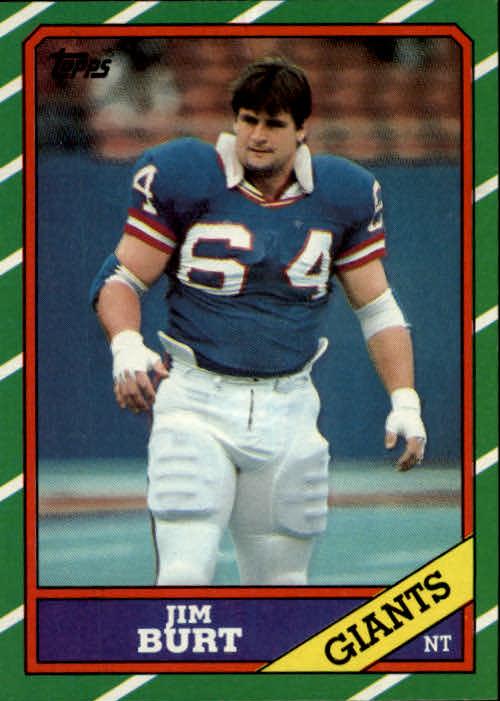 1986 Topps #149 Jim Burt