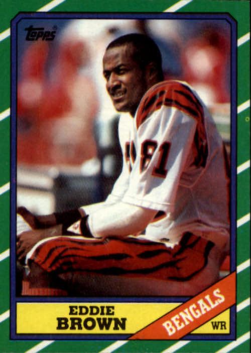 1986 Topps #260 Eddie Brown RC