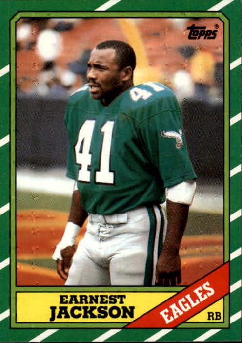 1986 Topps #270 Earnest Jackson