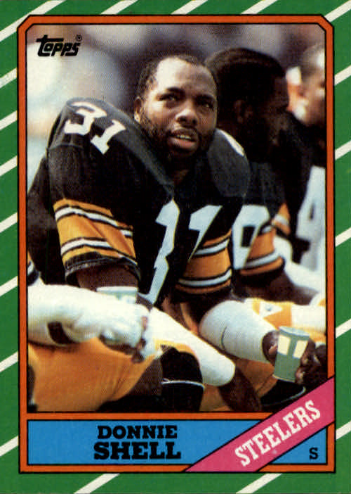 1986 Topps #291 Donnie Shell