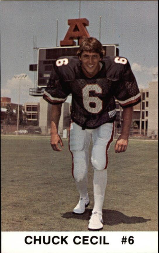 1986 Arizona Police #5 Chuck Cecil