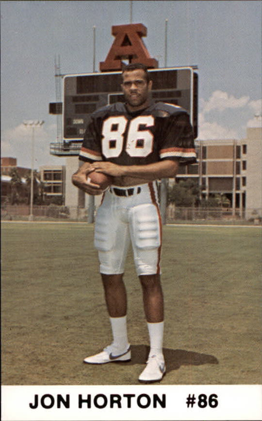 1986 Arizona Police #13 Jon Horton