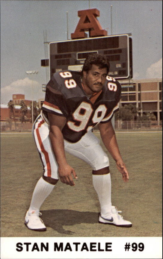 1986 Arizona Police #16 Stan Mataele