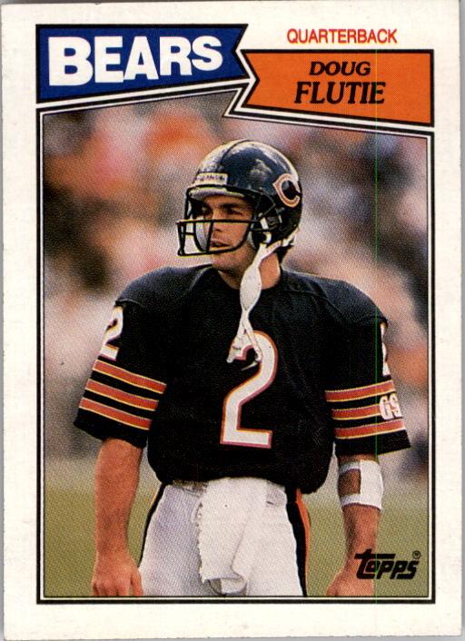 1987 Topps #45 Doug Flutie RC