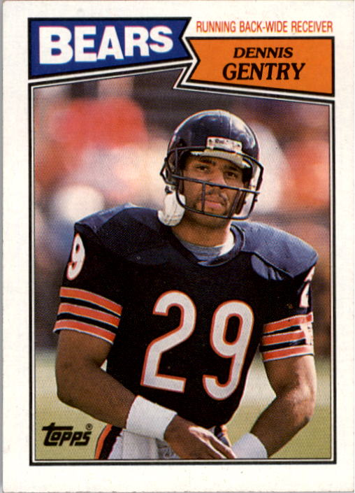 1987 Topps #49 Dennis Gentry RC