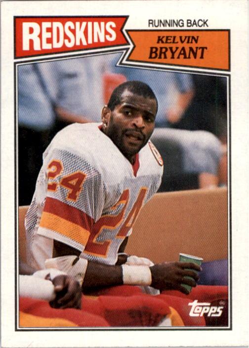 1987 Topps #66 Kelvin Bryant RC