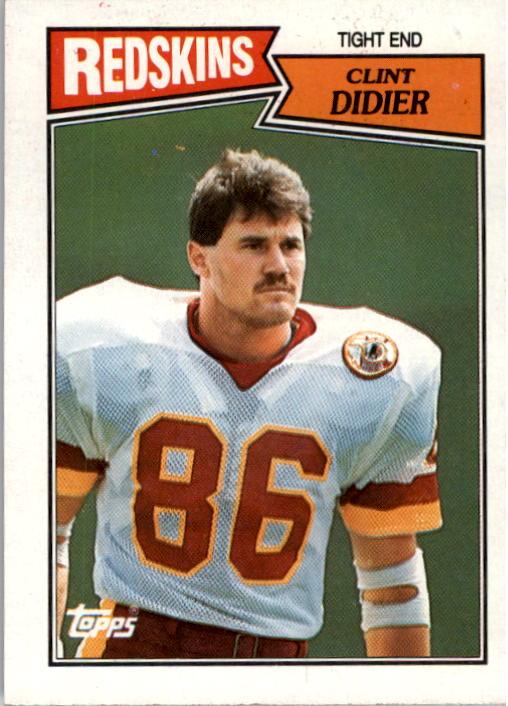 1987 Topps #70 Clint Didier RC