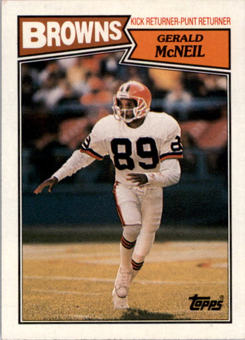 1987 Topps #94 Gerald McNeil RC