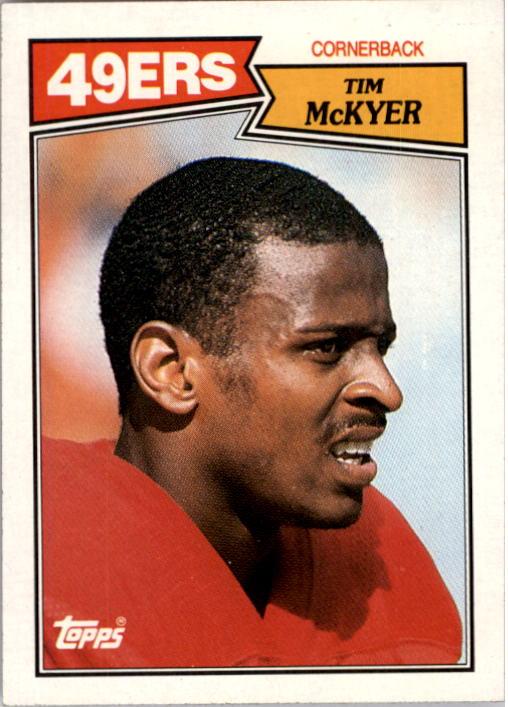 1987 Topps #121 Tim McKyer RC