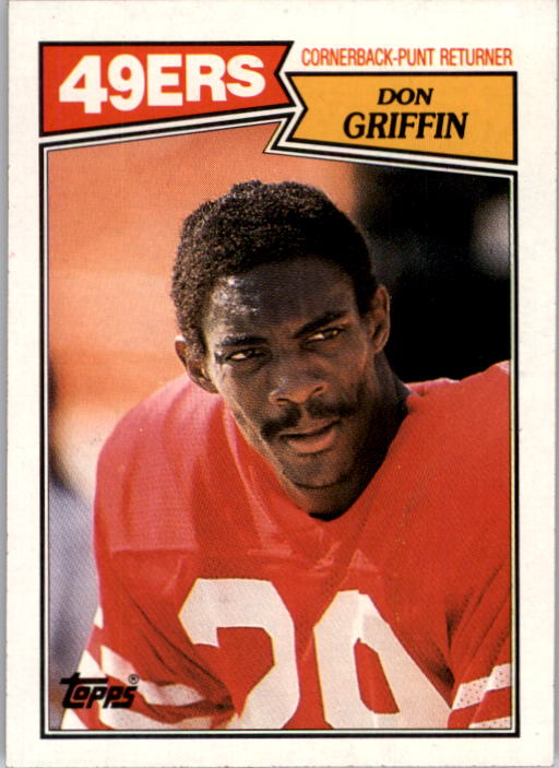 1987 Topps #122 Don Griffin RC