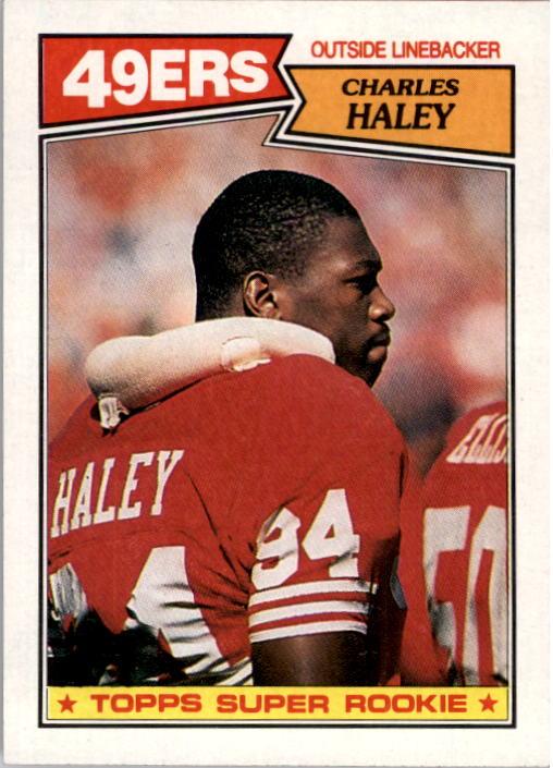 1987 Topps #125 Charles Haley RC
