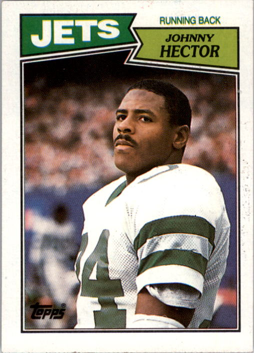 1987 Topps #130 Johnny Hector RC