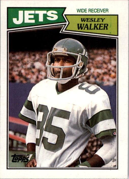 1987 Topps #132 Wesley Walker