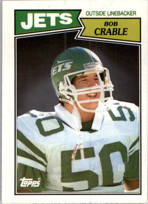 1987 Topps #138 Bob Crable RC