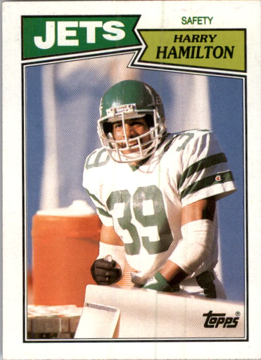 1987 Topps #141 Harry Hamilton RC
