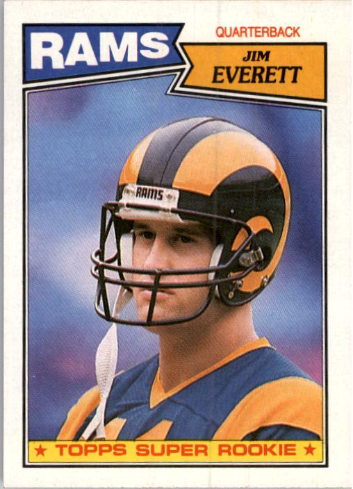 1987 Topps #145 Jim Everett RC