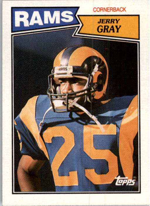 1987 Topps #157 Jerry Gray RC