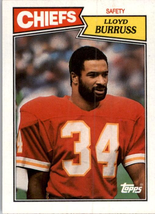 1987 Topps #170 Lloyd Burruss RC