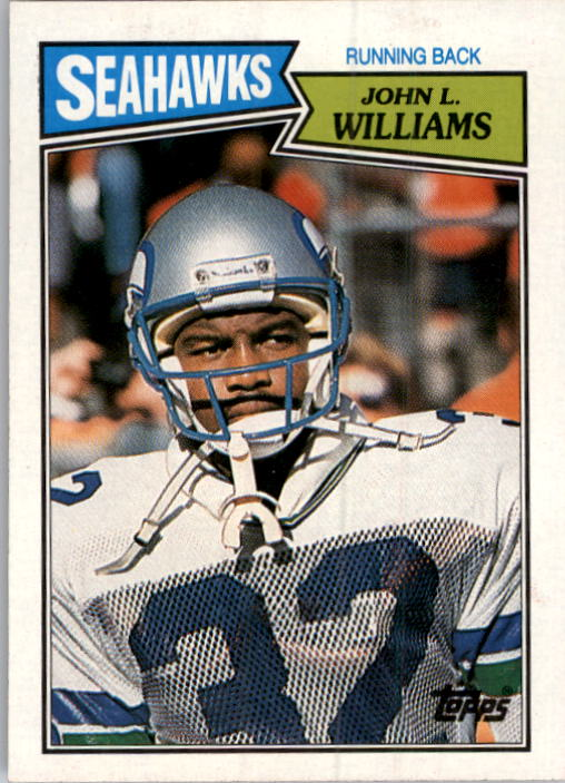 1987 Topps #175 John L. Williams  RC