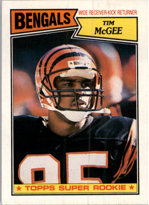 1987 Topps #190 Tim McGee RC