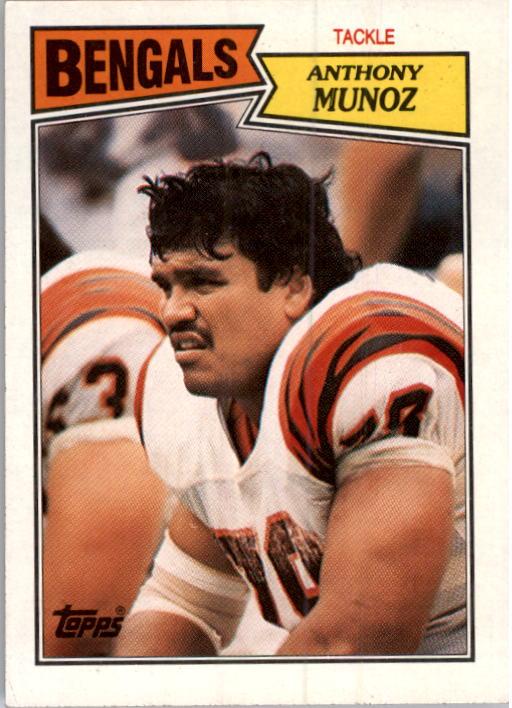 1987 Topps #192 Anthony Munoz