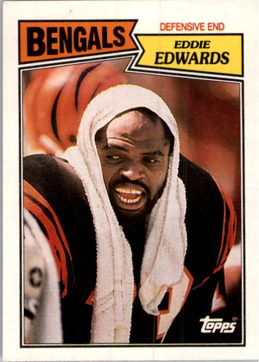 1987 Topps #194 Eddie Edwards