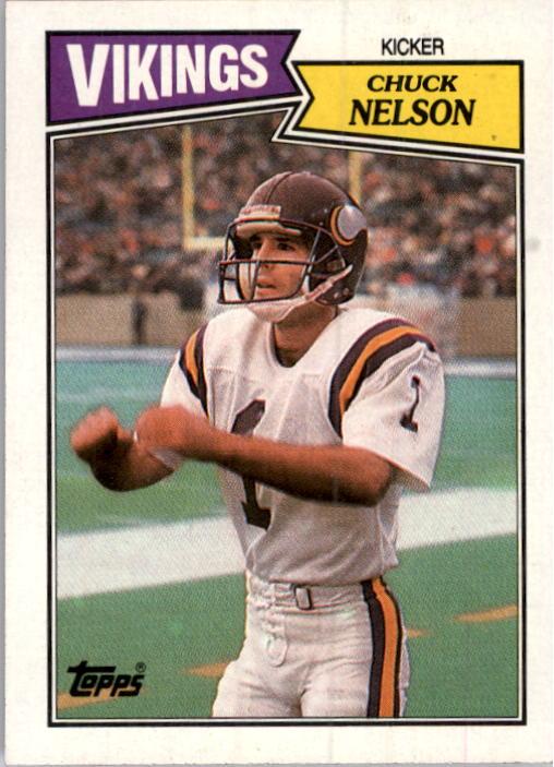 1987 Topps #205 Chuck Nelson RC