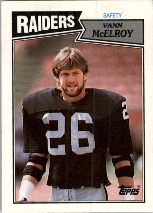 1987 Topps #225 Vann McElroy