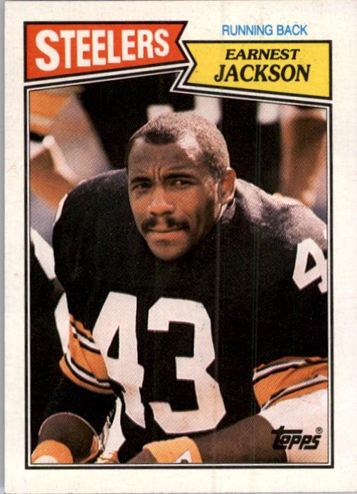 1987 Topps #285 Earnest Jackson