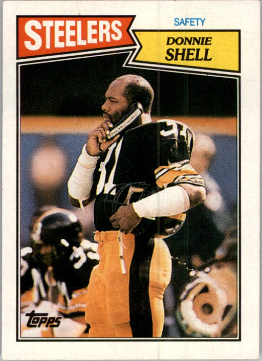 1987 Topps #293 Donnie Shell