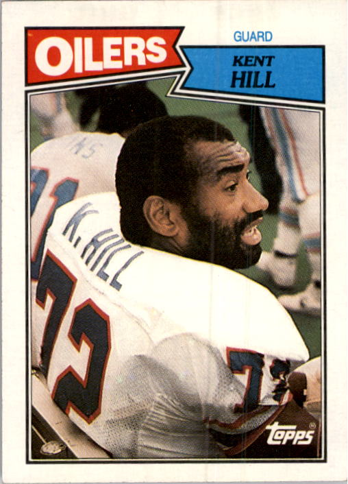 1987 Topps #312 Kent Hill