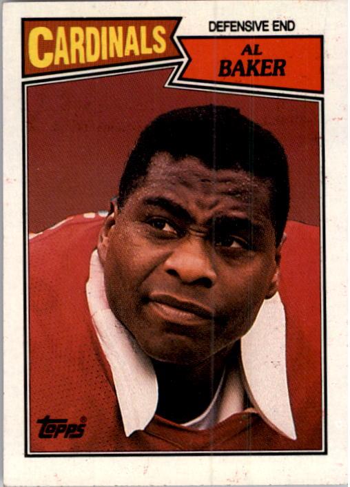 1987 Topps #336 Al(Bubba) Baker