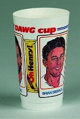1987 Browns Oh Henry Cups #1 Brennan/Byner/Golic