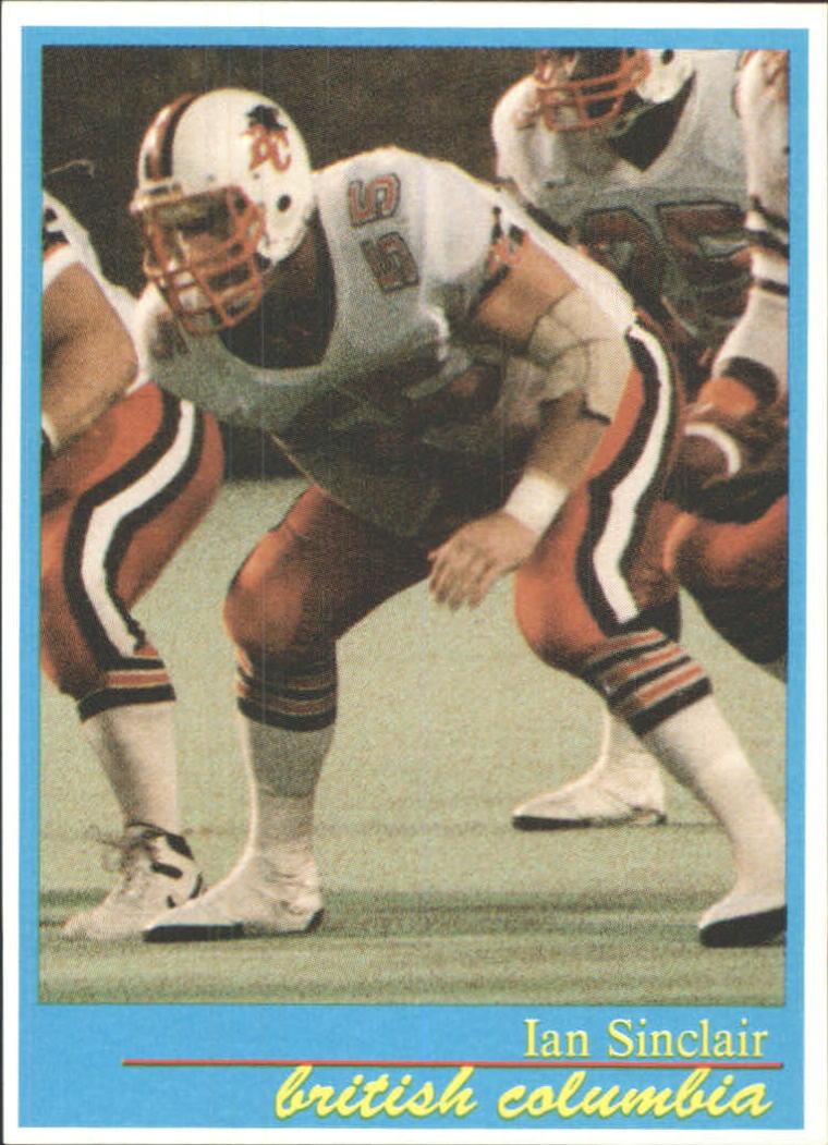 1987 JOGO #33 Ian Sinclair