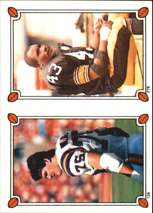 1987 Topps Stickers #126 Keith Millard/ 276 Earnest Jackson
