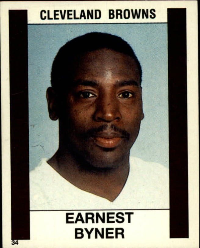1988 Panini Stickers #34 Earnest Byner