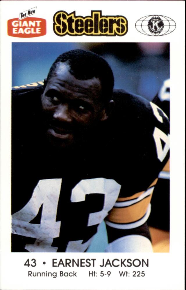 1988 Steelers Police #7 Earnest Jackson
