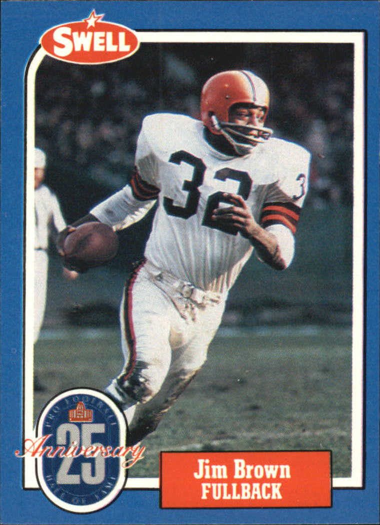 1988 Swell Greats #18 Jim Brown 71