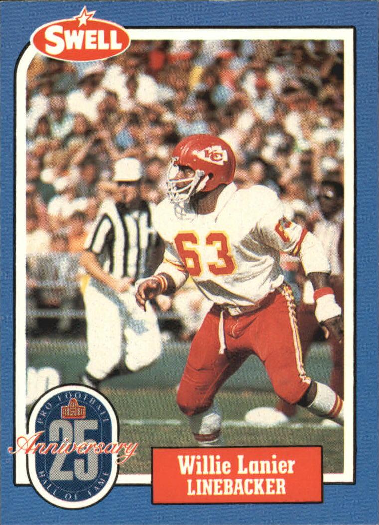 1988 Swell Greats #130 Willie Lanier 86