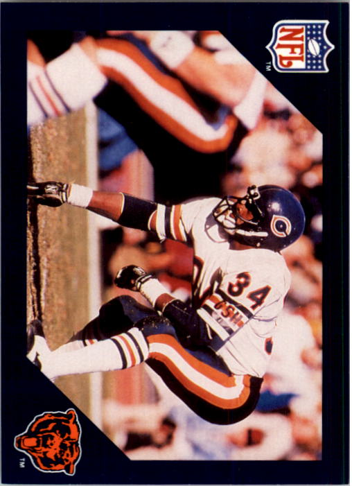 1988 Walter Payton Commemorative #4 Vs. Miami Dolphins