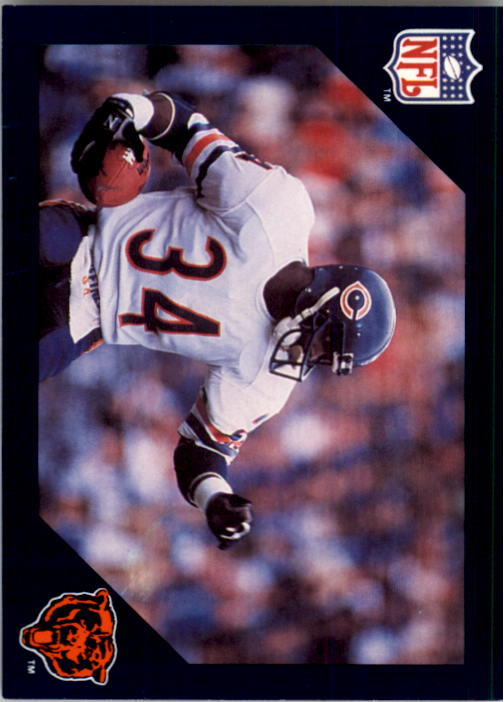 1988 Walter Payton Commemorative #8 Vs. Houston Oilers