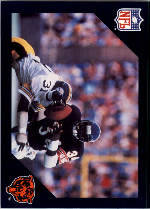1988 Walter Payton Commemorative #9 Vs. Pittsburgh