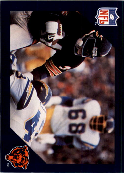 1988 Walter Payton Commemorative #14 Vs. San Diego