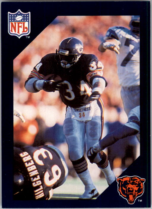 1988 Walter Payton Commemorative #16 Vs. Seattle Seahawks